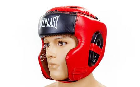 Шлем боксерский в мексиканском стиле FLEX EVERLAST VL-6247-R , фото 2