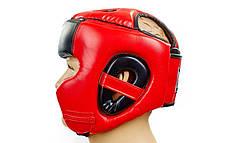 Шлем боксерский в мексиканском стиле FLEX EVERLAST VL-6247-R , фото 3