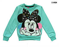 Кофта Minnie Mouse для девочки. 86, 98, 122 см