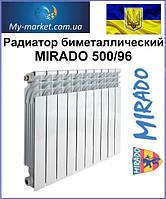 Радиатор биметаллический MIRADO 500/96, фото 1