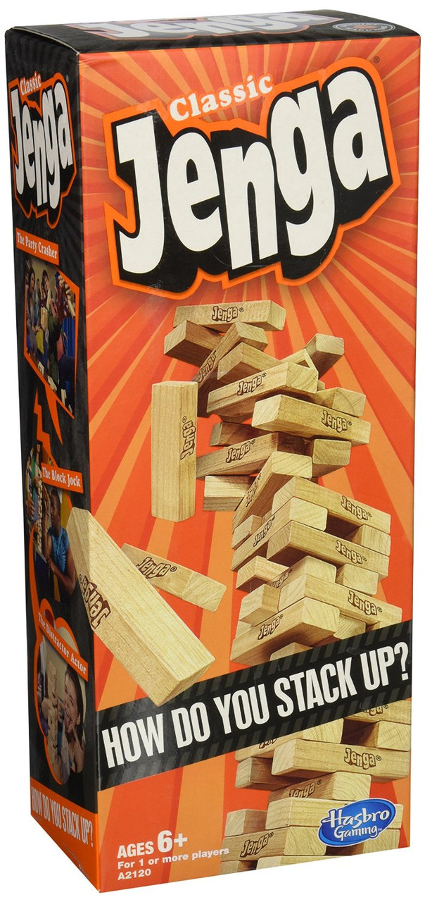 Hasbro Настольная игра Дженга Jenga Classic Game