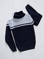 Вязаный свитер для мальчика 6,8,10,12,14,16 лет!