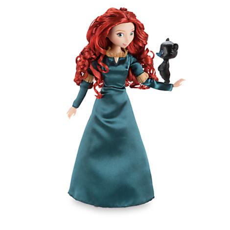 Disney Классическая кукла Принцесса Мерида с медвежонком - Храбрая сер