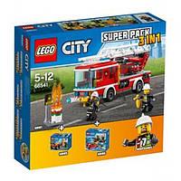 Lego City Город Комбинированный набор Пожарные 3 в 1 66541
