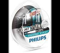 Галогеновая лампа philips h7 x treme vision + 130% света 12V 55W Германия 12972xv+s2