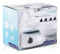 "Сервиз столовый 19 предметный Carine White""E6344"" Luminarc."