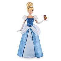 Disney Классическая кукла Принцесса Золушка c мышонком Жаком