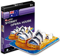 Трехмерная модель Сиднейский оперный театр, CubicFun (S3001h)