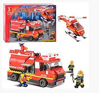 Конструктор Sluban Пожарные спасатели: Первая помощь, 409 деталей арт. M38-B0222