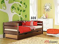 Детская Кровать Нота Плюс Бук Щит 101 (Эстелла-ТМ)