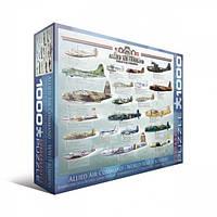 Бомбардировщики 2-й Мировой войны 1000 элементов. EuroGraphics (6000-0378)