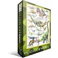 """Пазл """"Динозавры Юрского периода"""" (1000 эл.), EuroGraphics (6000-0099)"""