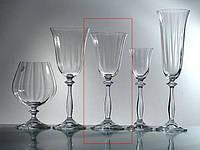 Angela Optic Набор бокалов для вина 250 мл - 6 шт Bohemia 40600/250