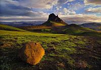 Фотообои на плотной полуглянцевой бумаге для стен 184*127 см из 1 листа: Исландия