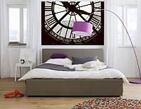 Фотообои на плотной полуглянцевой бумаге для стен 184*127 см из 1 листа: Часы, Париж