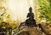 Фотообои на плотной полуглянцевой бумаге для стен 184*127 см из 1 листа: Будда