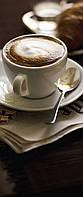 Фотообои на плотной полуглянцевой бумаге для стен 92*220 см из 2 листов: Кофе