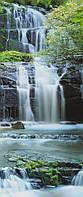 Фотообои на плотной полуглянцевой бумаге для стен 92*220 см из 2 листов: Водопад