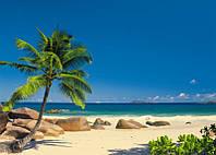 Фотообои на плотной полуглянцевой бумаге для стен 270*194 см из 4  листов: Сейшельские Острова