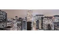 Фотообои на плотной полуглянцевой бумаге для стен 368*127 см из 4 листов: Мегаполис NY