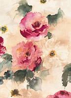Фотообои на плотной полуглянцевой бумаге для стен 184*254 см из 4 листов: Поэзия Цветов