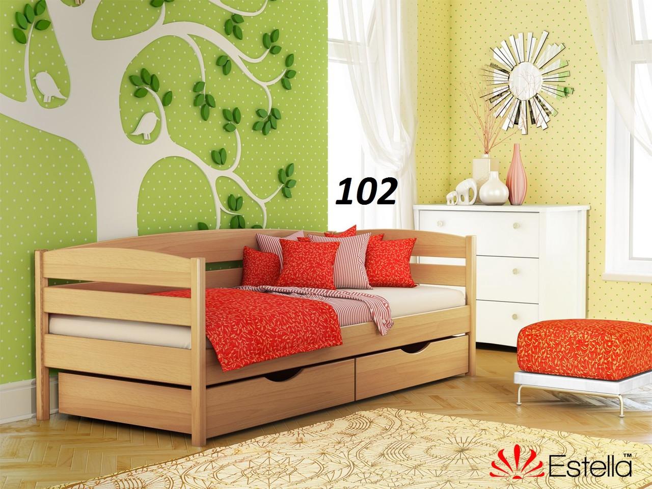Детская Кровать Нота Плюс Бук Щит 102 (Эстелла-ТМ)
