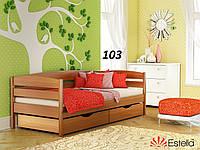 Детская Кровать Нота Плюс Бук Щит 103 (Эстелла-ТМ)