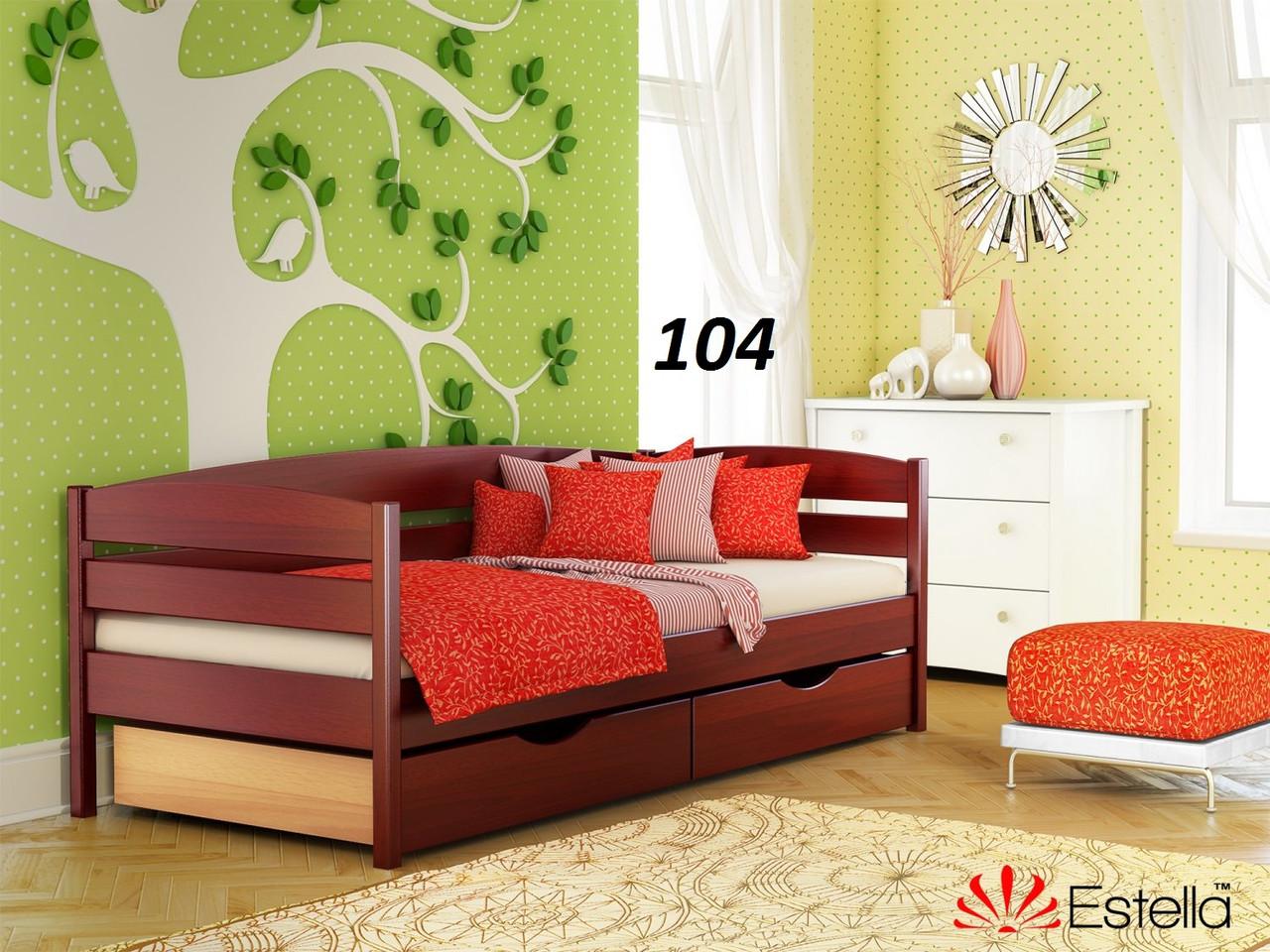 Детская Кровать Нота Плюс Бук Щит 104 (Эстелла-ТМ)