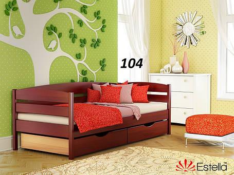 Детская Кровать Нота Плюс Бук Щит 104 (Эстелла-ТМ), фото 2
