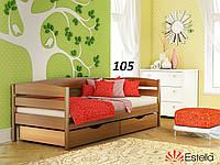 Детская Кровать Нота Плюс Бук Щит 105 (Эстелла-ТМ)