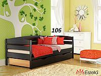 Детская Кровать Нота Плюс Бук Щит 106 (Эстелла-ТМ)