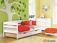 Детская Кровать Нота Плюс Бук Щит 107 (Эстелла-ТМ)