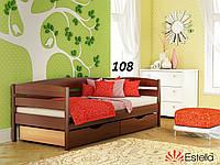 Детская Кровать Нота Плюс Бук Щит 108 (Эстелла-ТМ)