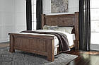 Кровать из массива дерева 070, фото 3