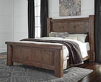 Кровать из массива дерева 070