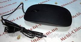 Мышь компьютерная USB в стиле Apple black, фото 2