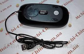 Мышь компьютерная USB в стиле Apple black, фото 3