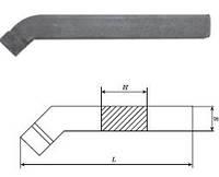 Резец проходной отогнутый 0025 (20х12х125) ВК8