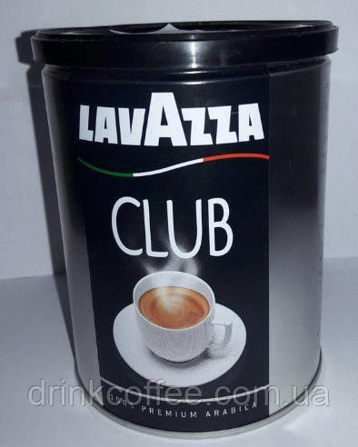 Кава мелена Lavazza Club, ж/б, Італія, 250 г