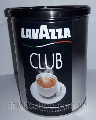 Кофе молотый Lavazza Club, ж/б, Италия, 250 г