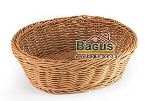 Корзинка для хлеба плетеная пластиковая овальная 24*19*8 см Empire (EM-9780)