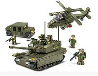 """Конструктор Sluban """"Сухопутные войска 2"""", 691 дет, M38-B0309"""