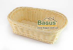 Корзинка для хлеба плетеная пластиковая прямоугольная 26*20*8 см Empire (EM-9789)