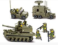 """Конструктор Sluban """"Сухопутные войска 2"""", 576 дет, M38-B0308"""