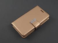 Чехол Rich Diary для Samsung Galaxy J1 2016 J120 золотистый