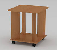 Квадратный журнальный стол «Соло» от мебельной фабрики Компанит
