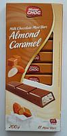 Шоколад Mister Choc Almond Caramel, Германия, 200 г