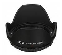 Бленда JJC LS-49  (O49mm Flower Lens Hood) _универсальная, фото 1