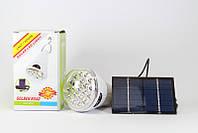 Светодиодная лампочка на солнечной батарее Solar Led Light GR-020, подвесной фонарь лампа