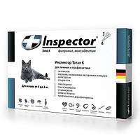 Капли ИНСПЕКТОР (INSPECTOR) для кошек больше 4 кг 1 пипетка